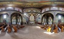v360 kosciol Wirtualne spracery 3D po Dąbrowie Tarnowskiej